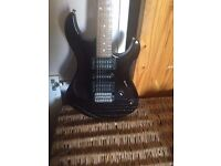 Yamaha guitar with small Amp