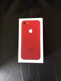 iPhone red limited edition 128GB new