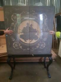 Chinese style cabinet