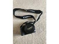 Canon EOS400D digital camera + Lowepro case + extras