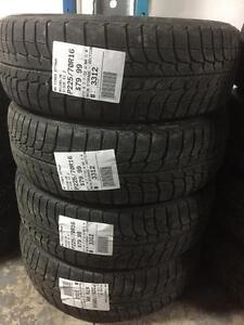 225/70/16 Michelin X-ice Winters