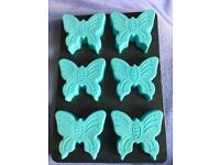 Butterfly silicone cake mould
