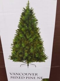 Gorgeous Artificial Vancouver Mixed Pine Christmas Tree - over 6ft (RRP:£149)