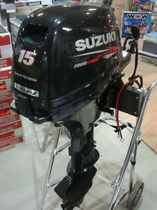 2016 suzuki DF15AES Fuel Injected Kitchener / Waterloo Kitchener Area image 1