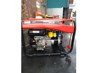SDMO Performance 4500 LPG Generator Excellent condition under 2 years old. Fully serviced.