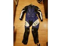 Frank thomas mens one piece motorcycle leathers l large r1 r6