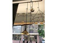 Hanging lamp ceiling light Phil Brass Broste Copenhagen (new)