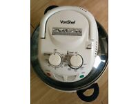 VonShef Premium Halogen Oven Cooker with Hinged Lid – 12L Health Fryer with Full Accessories
