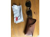 Ray Ban Clubmaster sunglasses nearly new