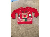 Kids/infant Christmas jumper age 18-24months