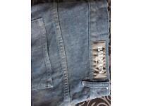 Balmain jeans 100% genuine 34w slim fit Colour navy