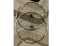 Mavic Aksium wheelset with tyres.