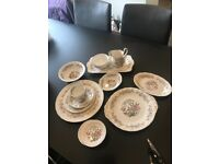 """Royal Standard """" Mandarin"""" bone china tableware in excellent condition."""