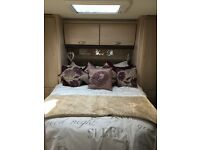 Sterling Eccles 4 berth touring caravan 2010 fixed island bed