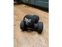 Dumbbell set - 2 x 3kg