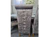 £50 EACH 4 x dinning chairs
