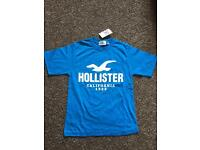 Hollister Blue Children's T-Shirt. Age 12