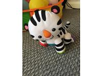 Crawling zebra