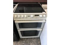 Creda Concept 60cm Double Electric Cooker in White #4019