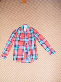 Boys Mini Boden long sleeve shirt, size 9-10 years