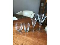 Hand made glasses 4 sets 12 (total 48)
