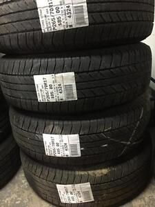 265/70/17 Bridgestone Duller H/T 684 Allseasons tires