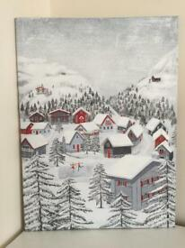 Next Nordic Christmas Canvas