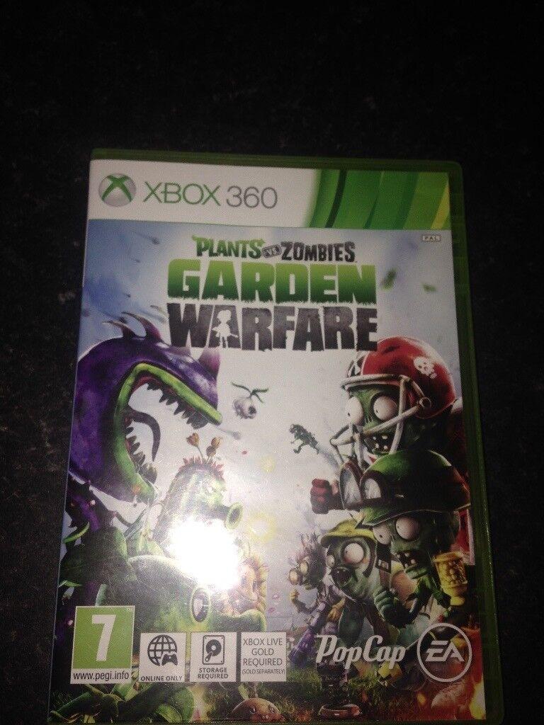 Xbox 360 plants vs zombies garden warfare for sale