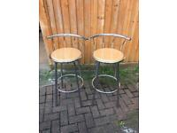 Two high chairs/ stools