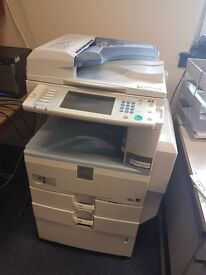 RIOCH PRINTER FOR SALE MP2550 Prints, scans, copies and faxes