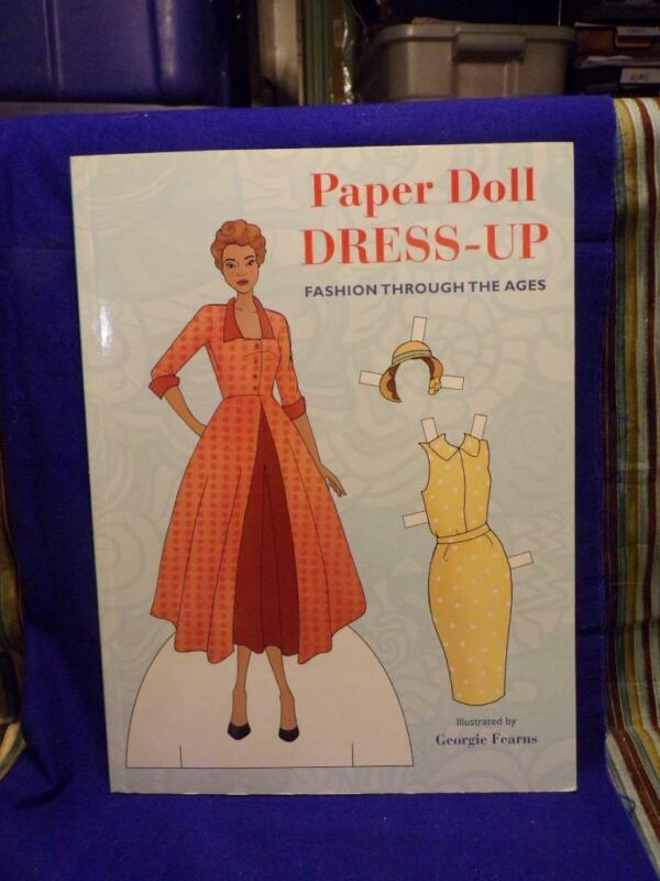 PAPER DOLL DRESS UP-FASHION THROUGH THE AGES- 2013-Georgie Fearns