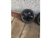 "Honda Civic eg fat five 15"" alloys 4x100"