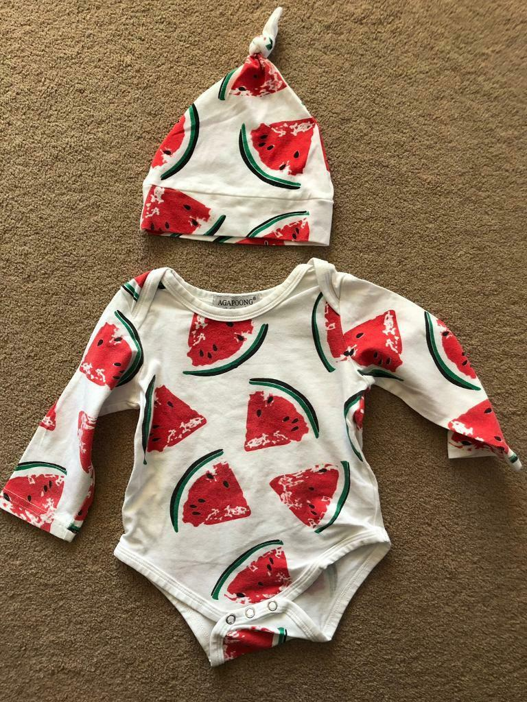 b55e6e5b8 Baby watermelon set summer spring 6-9 months old | in Weymouth ...