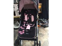 Silver Cross Graco Butterfly Print Buggy