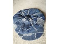 Ladies Jean Material Fashionable Hat