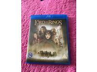 Lord of the Rings Trilogy on Blu Ray