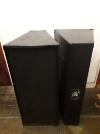 Martin Mach road series,speakers,beyma loaded,1000 watts rms each,pair over £4k when new