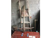 Used Wooden Pick Axe - Ring MAlc