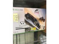 XBOX ONE S 1TB AND GAME FORZA HORIZON 3 BOXED SEALED NEW