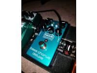 MXR bass guitar Chorus Deluxe effects pedal