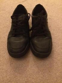Boys school shoes Clarks 7.5 G