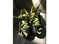 Football boots size 1, sondico, good condition