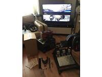 Thrustmaster TX Xbox One with F1 Add on & TH8A Pedals