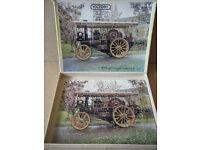 "Victory wooden Jigsaw puzzle ""1919 GARRETT SHOWMANS TRACTION ENGINE"" 80 piece"