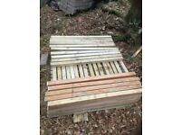 Decking spindles, over a 100