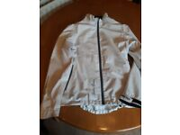 White galvin green golf jacket