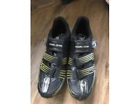 Pearl Izumi race Red II cycling shoes size 11