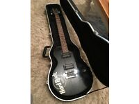 Limited edition Hard Rock Cafe special epiphone black electric guitar