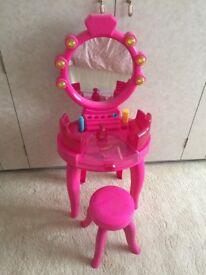 Barbie Vanity Table & Chair