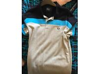 Large Fred Perry slim fit polo